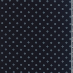 Snowbird Prints Late Night Polka Dot Yardage