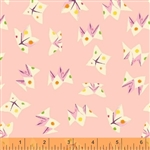 Sleeping Porch Pink Fortune Teller Cotton Lawn Yardage