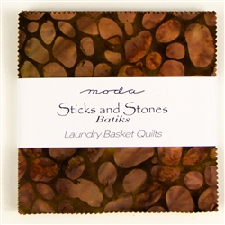"Sticks and Stones Batiks 5"" Charm Squares"