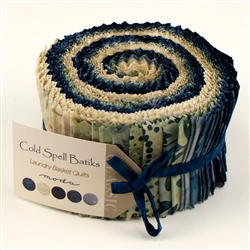 Cold Spell Batiks Jelly Roll