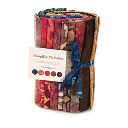 Pumpkin Pie Batiks Fat Eighth Bundle