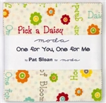 "One for You One for Me PRINTS 5"" Charm Squares"