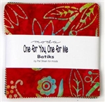 "One for You One for Me BATIKS 5"" Charm Squares"