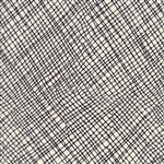 Thicket Black on Natural Crosshatch Yardage