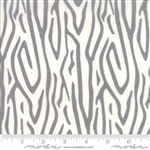 Savannah Pewter Zebra Stripe Yardage SKU# 48222-14 Savannah by Gingiber for Moda Fabrics
