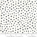 Savannah Charcoal Spotted Yardage SKU# 48226-11 Savannah by Gingiber for Moda Fabrics
