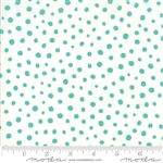 Savannah Peacock Spotted Yardage SKU# 48226-23 Savannah by Gingiber for Moda Fabrics