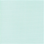 Vintage Holiday Aqua Dot Flannel 55162-12F