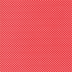 Vintage Holiday Red - Pink Dot 55162-15