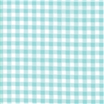 Vintage Holiday Aqua Plaid 55164-13