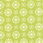 Vintage Holiday Green Snowflakes 55166-16