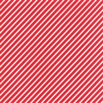 Vintage Holiday Red Bias Candy Stripe 55168-11