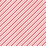 Vintage Holiday Red - Pink Bias Candy Stripe 55168-14F