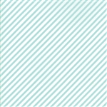 Vintage Holiday Aqua Bias Candy Stripe 55168-22F