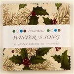 "Winter's Song 5"" Charm Squares"