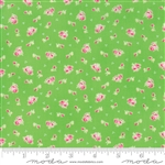 First Romance Cutie Pie Corsage Yardage  SKU# 8401-15 First Romance by Kristyne Czepuryk for Moda Fabrics