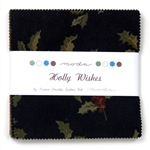 "Holly Wishes 5"" Charm Squares"
