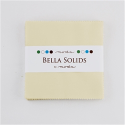 "Bella Solids Figtree 5"" Charm Squares"
