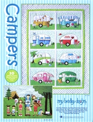 Campers Applique Pattern