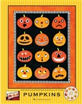 Pumpkins Quilt Applique Pattern