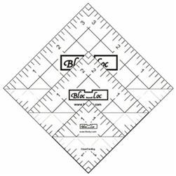 Bloc Loc Half Square Triangle Square Up Ruler