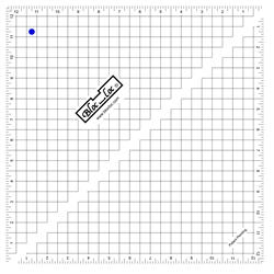 12.5_Bloc Loc Half Square Triangle Square Up Ruler