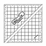 "5.5"" Bloc Loc Half Square Triangle Square Up Ruler"