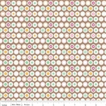 Flower Patch Dots Brown Yardage