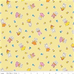 Milk Sugar Flower Milk Friends Yellow Yardage
