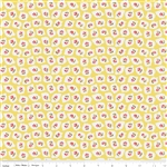 Milk Sugar Flower Milk Drops Yellow Yardage