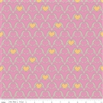 Zombie Love Heart Pink Yardage by Riley Blake Designs <br/> C4961-Pink
