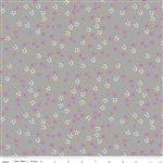Zombie Love Floral Gray Yardage by Riley Blake Designs <br/> C4962-Gray