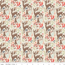 Woodland Main Cream Yardage