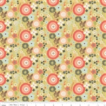 Woodland Floral Green Yardage