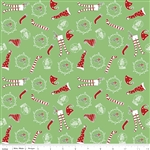 Pixie Socks Green Yardage