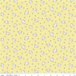 Apple Farm - Chickadee Yellow by Elea Lutz for Penny Rose Fabrics C5454-Yellow