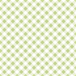 Sew Cherry 2 Gingham Green C5808-Green by Lori Holt of A Bee in My Bonnet