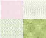Sew Cherry 2 Fat Quarter Panel Pink