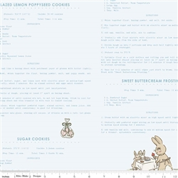 Bunnies and Cream Recipes Blue