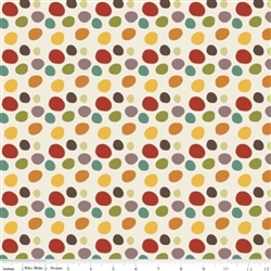 Giraffe Crossing 2 Dots Multi Yardage
