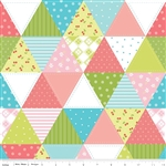 Glamper-licious Green Cheater Panel Yardage