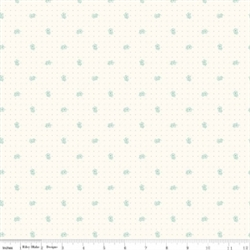 Bee Backgrounds Daisy Teal Yardage