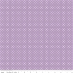Swiss Dot Lavendar by Riley Blake Designs