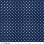 Swiss Dot Navy by Riley Blake Designs