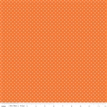 Swiss Dot Orange by Riley Blake Designs