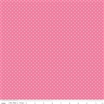 Swiss Dot Hot Pink by Riley Blake Designs