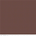 Swiss Dot Brown by Riley Blake Designs
