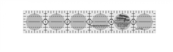 Creative Grids Quilt Ruler