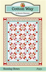 Cotton Way Sunday Bows Quilt Pattern
