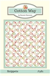 Cotton Way Snippets Quilt Pattern